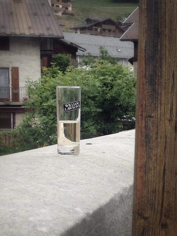 Le verre de trop, Pont de l'Ormente, mai 2017